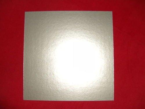 Glimmerscheibe, Hohlleiterabdeckung für Mikrowellen-Austritt 150X150mm (zuschneidbar) passend für Bosch, Siemens, Sharp, LG, AEG