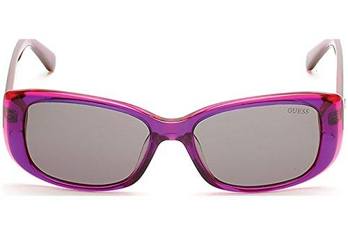 Guess GU7408 C52 81A (shiny violet / smoke)