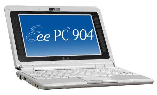 Asus Eee PC 904HD 22,6 cm (8,9 Zoll) WSVGA Netbook (Intel Celeron-M 353 0,9GHz, 1GB RAM, 160GB HDD, Intel GMA 900, Windows XP Home) weiß - Wsvga Netbook
