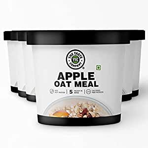 TheTasteCompany Apple Oat Meal - Ready to Eat | Instant Food | Taste Company (Pack of 6)