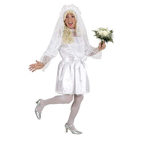 WIDMANN 8920S Erwachsenenkostüm Männliche Braut, Herren, Weiß, XL