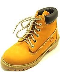 DIESEL - Zapato negro y amarillo fluo de tejido, insertos de cuero y caucho, con cierre de velcro, Niño, Niños-33