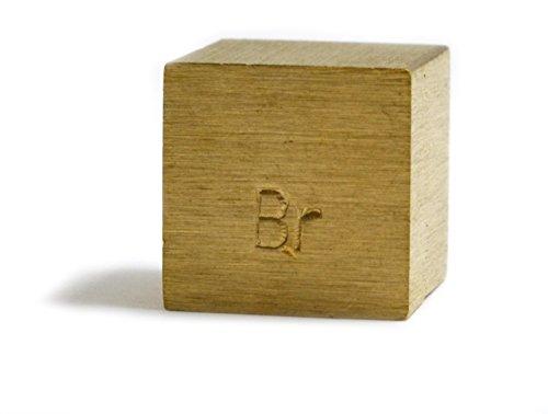 Densidad cubo, único latón BR bloque elemento sello