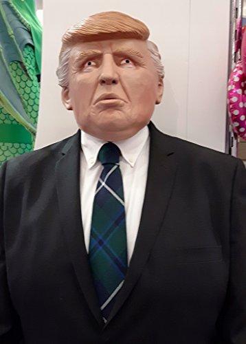 Mr. President Donald Trump Latex Maske für Erwachsene Karneval Fasching Party (Mr Spaß Halloween Kostüme)