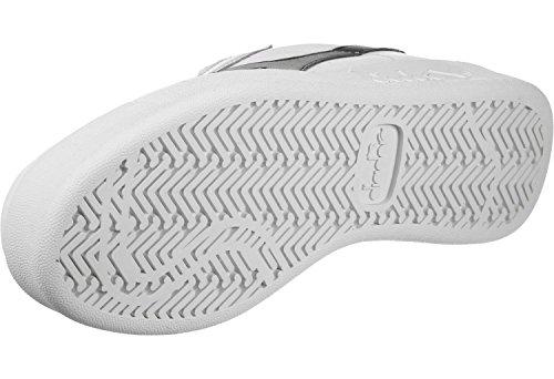 Diadora B. Elite, Scarpe Low-Top Unisex-Adulto bianco rosso vinaccia