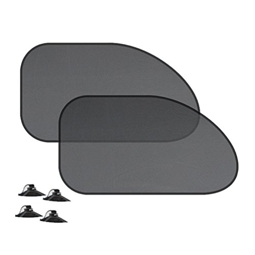 Gilroy Fenster Shade Auto Sonnenschutz Auto Seite Auto Heckscheibe Bildschirm Sonnenschutz für UV-Schutz One Size 2# - Fenster Auto Seite Shade