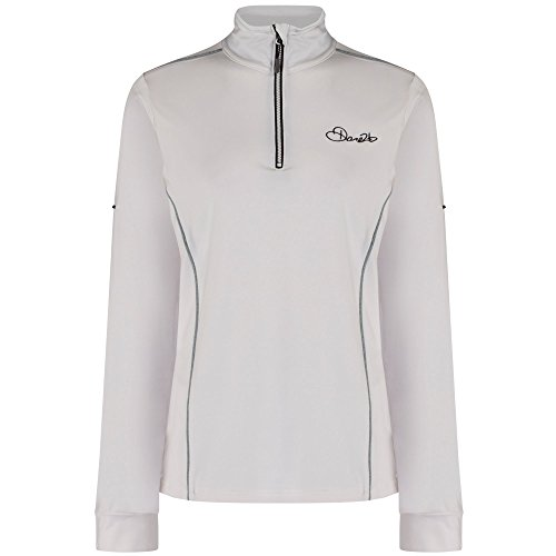 Mesdames Dare 2b Entirety Core Stretch Léger Midlayer Pull de Femmes Chaud de Sport Black