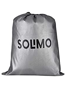 Amazon Brand - Solimo Mahindra XUV500 Water Resistant Car Cover (Dark Blue & Silver)