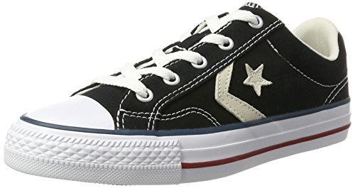 Converse Star Player, Basses mixte adulte - noir - Schwarz (Black),