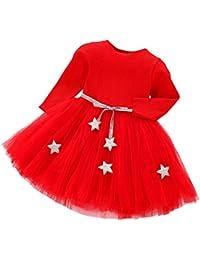 Vestidos Bebe Niña, K-youth® Recién Bebé Niñas Tutú princesa vestido Pentagram Bautizo