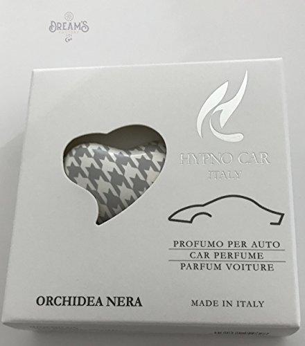 PROFUMATORE PER AUTO - ORCHIDEA NERA (GRIGIO)