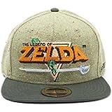 The Legend Of Zelda fedsb097510zel–leyenda de 8bits Logo Gorra Talla Única