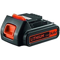 BLACK+DECKER BL1514-XJ Batterie, 14.4V, Orange,
