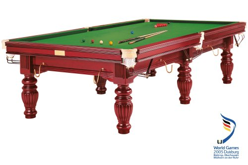 Billardtisch Dynamic Prince, 10 ft. (Fuß), mahagoni, Snooker
