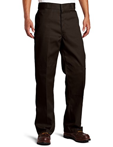 Dickies D/Knee Work Pant, Pantaloni da Uomo, Marrone (Dark Brown), W32/L32 (Taglia Produttore: 32/32)