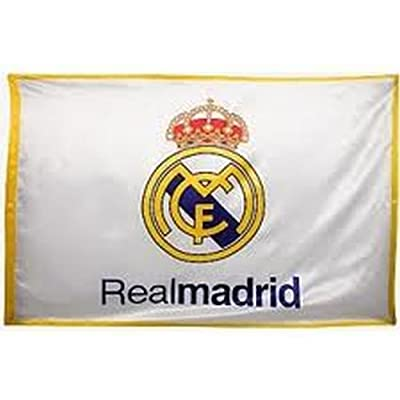 BANDERA REAL MADRID C.F, 0,50 * 0,68 cm