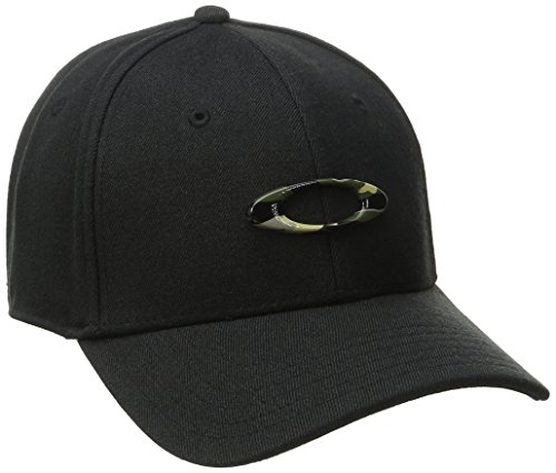 Oakley Herren Tincan Cap Black/Graphic Camo, S/M