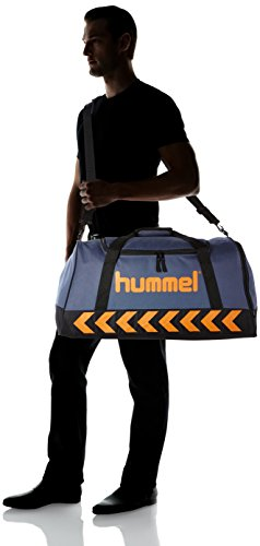 Hummel Unisex Authentic Sports Bag Tasche Ombre Blue/Nasturtium