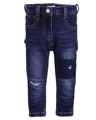 Gulliver Baby Mädchen Jeans Hose Blau Distressed Effekt 92cm -