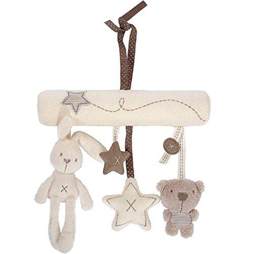 Minetom Einschlafhilfe Kleinkindspielzeug Baby Babyspieluhr Mobile Bett Rasseln Spielzeug Spieluhr Musikuhr Beschwichtigen Schlaf Spielzeug