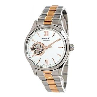 Orient RA-AG0020S – Reloj de Pulsera automático para Mujer, con corazón, 2 Tonos, Oro Rosa