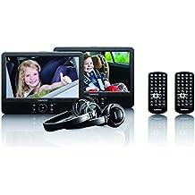 Lenco DVP-939 reproductor de dvd/bluray portátiles - Reproductor portátil (Batería, DC, TFT, MMC, SD, 800 x 480 Pixeles, 16:9, Ión de litio)