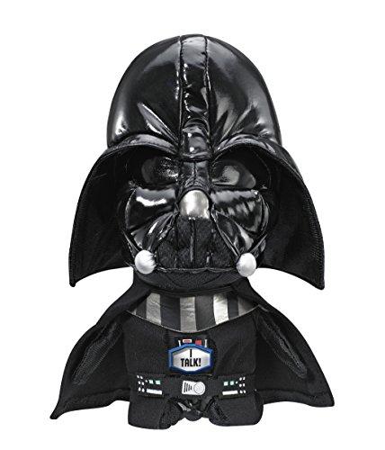 Star Wars Underground Toys 22,9cm sprechende Darth Vader Plüschfigur in Geschenk-Box, mit gratis Schlüsselanhänger