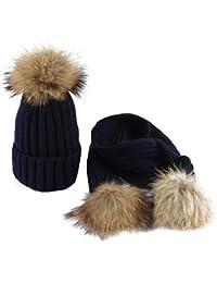 Amazon.it  cappello con pon pon  Abbigliamento b0837ab930cf