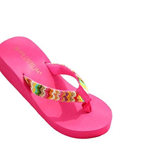 Ouneed® ,  Sabot/sandali Donna rosa acceso