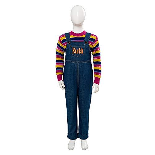 MingoTor Chucky Cosplay Kostüm Kinder L
