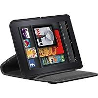 Targus THZ18002EU - Funda con base giratorio de 360 grados para Kindle Fire, color negro
