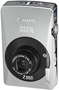 Canon Ixus 75 Digitalkamera 3 Zoll Silber Schwarz Kamera