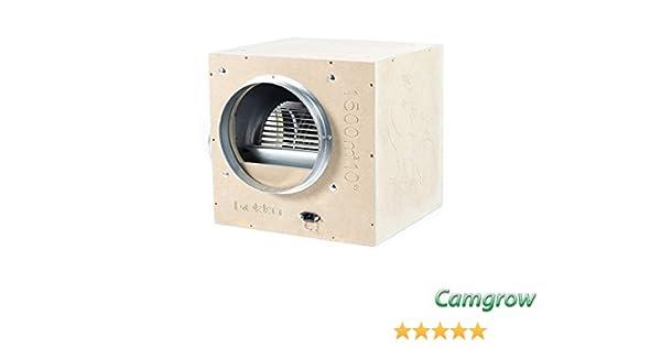 "150mm Air Movement Hydroponics Gekko Acoustic Box Fans 6/"""