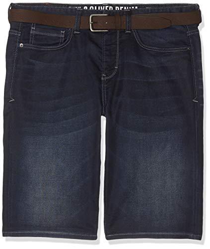 s.Oliver Big Size Herren 15.904.72.3463 Shorts, Blau (Blue Denim Stretch 57z4), W(Herstellergröße: 48)