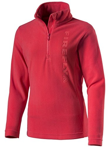 Firefly Damen Frida Fleece, Rot, 40