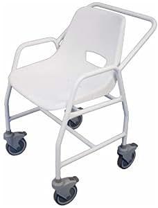 aidapt vb648 mobiler dusch stuhl hythe mit rollen amazon. Black Bedroom Furniture Sets. Home Design Ideas