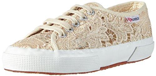 Superga 2750 Macramew, Damen Sneakers, Elfenbein (Ivory), 38 EU (5 UK)