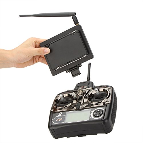 WLtoys V666 5,8 G FPV 6 Achse 4CH RC große Quadrocopter Quadcopter UFO mit 2.0MP HD Kamera und Monitor RTF - 5