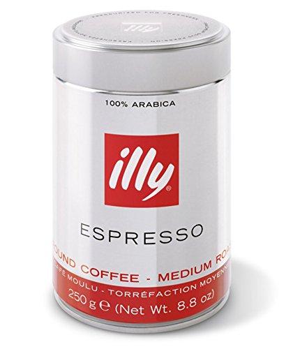 Preisvergleich Produktbild Illy Espresso gemahlen,  classico,  klassisch-samtig,  250 g