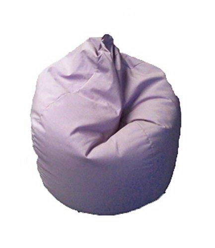 Avalli poltrona a sacco pouf in cotone lilla