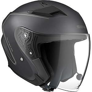 Sena OUTSTAR-MB00L Smart Helmet, Certificato ECE, Nero, L