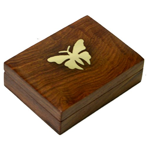 Craftuno Handcrafted Wooden Cigarette Case  available at amazon for Rs.349