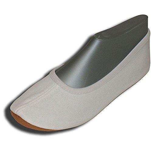 Beck Basic 0 w, Chaussures gymnastique mixte adulte Blanc