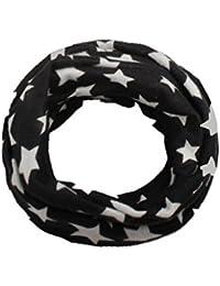 Webla(TM) Des Foulards Coton de Pentagramme Motifs Mignonne en Bébé Unisexe Echarpe  Bébé Les Filles Garçons Rond Col écharpe… d50f81d127c
