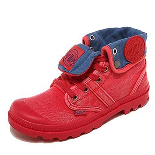 Donna alta top canvas scarpe traspirante piatto casual scarpe pizzo fino sneakers all'aperto a piedi scarpe vulcanizzate