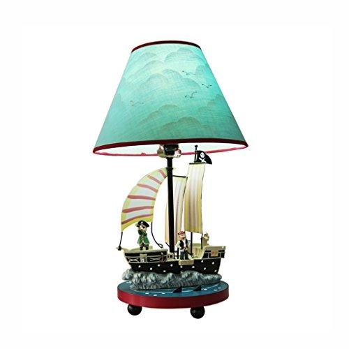 chleuchte- Schreibtischlampe mediterranen Stil junge Schlafzimmer Nachttischlampen kreative Kinderzimmer warmen und schönen Cartoon dekorative Lichter (Rabatt Wohnkultur Stoff)