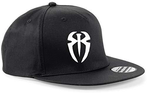 Snapback Cap HAT Roman Reigns WWE Wrestling 7 Colours Adjustable (All Black) ad120b670fe3