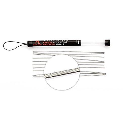 DIY-24H - 10x Wire Shots Wickel Draht für Selbstwickler RDA RBA RTA Vape Verdampfer Kanthal A1 (Alien Clapton)