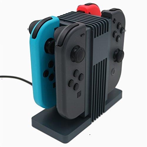Nintendo Switch Joy-Con (L + R) cargador de carga iBetter medio ambien
