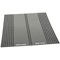 LEGO Duplo 1x Bauplatte Grundplatte 12x16 alt hell grau 50384